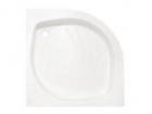 Cadita de dus semi-rotunda cu panouri 80x80x6 cm - Pret | Preturi Cadita de dus semi-rotunda cu panouri 80x80x6 cm