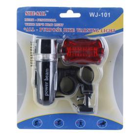 Set lanterne cu LEDuri de avertizare pentru bicicleta - Pret | Preturi Set lanterne cu LEDuri de avertizare pentru bicicleta