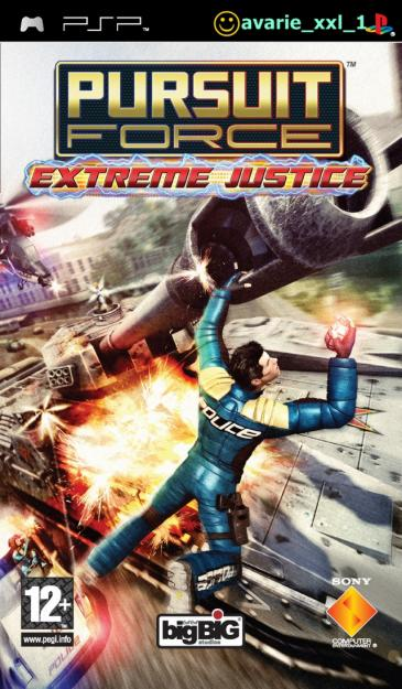 Pursuit Force Extreme Justice PSP Joc UMD - Pret | Preturi Pursuit Force Extreme Justice PSP Joc UMD