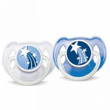 Philips Avent - Suzete de noapte 6-18 luni fara BPA - Pret | Preturi Philips Avent - Suzete de noapte 6-18 luni fara BPA