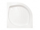 Cadita de dus semi-rotunda cu panouri 80x80x16 cm - Pret | Preturi Cadita de dus semi-rotunda cu panouri 80x80x16 cm