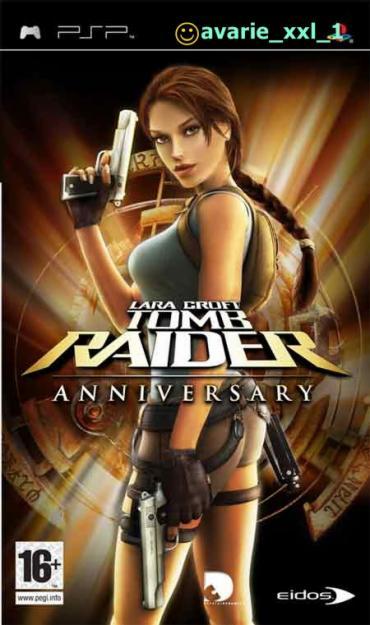 Lara Croft Tomb Raider Anniversary PSP Joc UMD - Pret | Preturi Lara Croft Tomb Raider Anniversary PSP Joc UMD