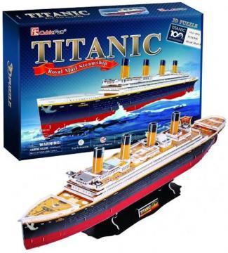 Puzzle 3D - Titanic - Pret | Preturi Puzzle 3D - Titanic