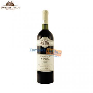 Vin demisec Feteasca Neagra rosu  0 75 L  Tohani - Pret | Preturi Vin demisec Feteasca Neagra rosu  0 75 L  Tohani