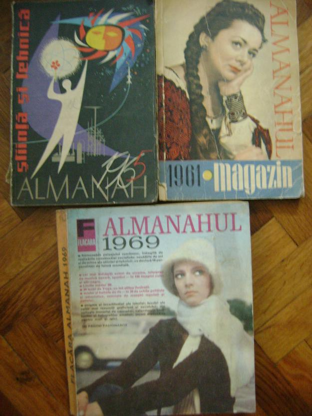 Colectie de almanahuri diverse - Pret | Preturi Colectie de almanahuri diverse
