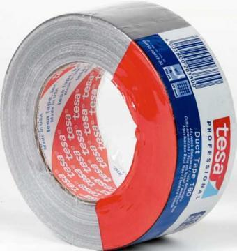 Banda adeziva Tesa Duct Tape, argintiu - Pret | Preturi Banda adeziva Tesa Duct Tape, argintiu