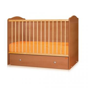 Bertoni - Pat lemn balansoar Joy 60 x 120 cm + cearceaf pat cadou - Pret | Preturi Bertoni - Pat lemn balansoar Joy 60 x 120 cm + cearceaf pat cadou