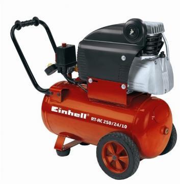 Compresoare - Einhell RT-AC 250-24-10 10 bari 2850 rpm 250 lpmin - Pret | Preturi Compresoare - Einhell RT-AC 250-24-10 10 bari 2850 rpm 250 lpmin