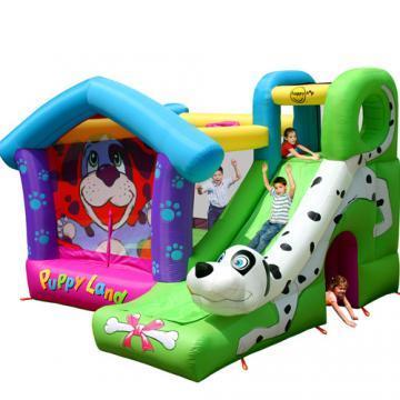 Happy Hop - Complex gonflabil de joaca Puppy Land - Pret | Preturi Happy Hop - Complex gonflabil de joaca Puppy Land