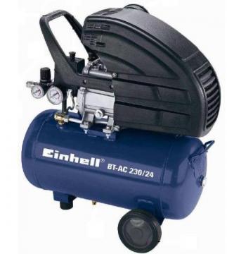 Compresoare - Einhell BT-AC 230-24 8 bari 2850 rpm 206 lpmin - Pret | Preturi Compresoare - Einhell BT-AC 230-24 8 bari 2850 rpm 206 lpmin