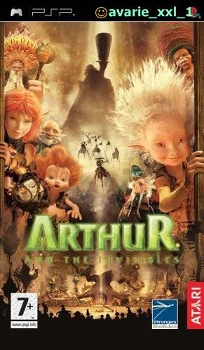 Arthur and the Invisibles PSP Joc UMD - Pret | Preturi Arthur and the Invisibles PSP Joc UMD
