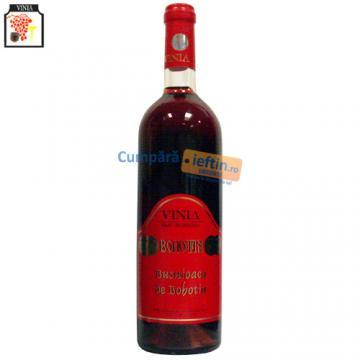 Vin demidulce Vinia Busuioaca de Bohotin 0.75 L - Pret | Preturi Vin demidulce Vinia Busuioaca de Bohotin 0.75 L