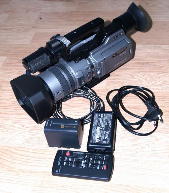 Sony VX2100 stare foarte buna si lentila wide Sony VCL-HG0758 - Pret | Preturi Sony VX2100 stare foarte buna si lentila wide Sony VCL-HG0758