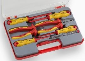 Trusa electrician 7 piese - Pret | Preturi Trusa electrician 7 piese