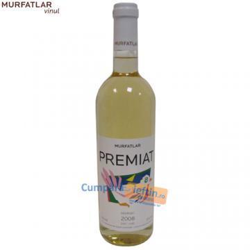 Vin demisec Chardonnay & Sauvignon Murfatlar Premiat 0.75 L - Pret | Preturi Vin demisec Chardonnay & Sauvignon Murfatlar Premiat 0.75 L
