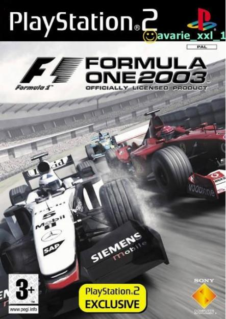 Formul One 2003 PS2 joc Original - Pret | Preturi Formul One 2003 PS2 joc Original