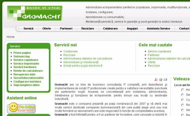 Servicii IT si reparatii copiatoare, imprimante - Pret | Preturi Servicii IT si reparatii copiatoare, imprimante