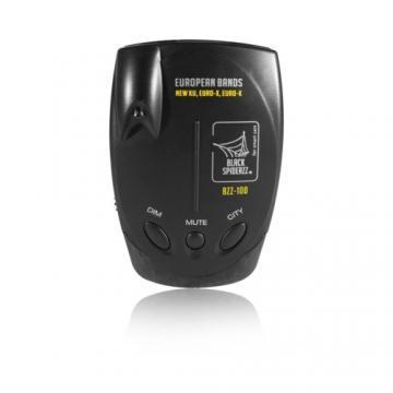 Detector radar Black Spiderzz BZZ-100 - Pret | Preturi Detector radar Black Spiderzz BZZ-100