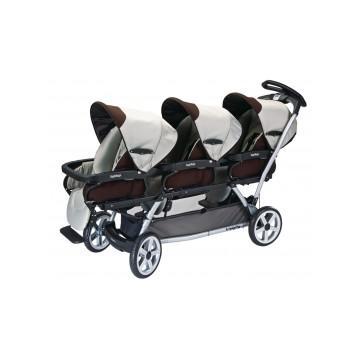 Carucior copii tripleti Peg Perego - Pret | Preturi Carucior copii tripleti Peg Perego