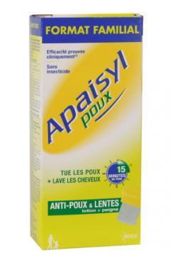 Poux Apaisyl Sampon Antipaduchi si Lindini *100 ml - Pret | Preturi Poux Apaisyl Sampon Antipaduchi si Lindini *100 ml