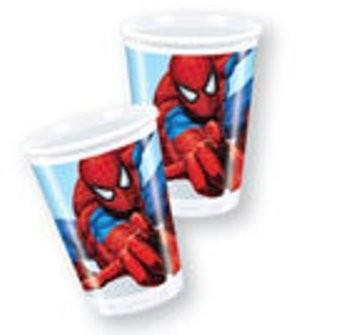 Spiderman Classic - Pahare Plastic, 200 ml (8 buc.) - Pret | Preturi Spiderman Classic - Pahare Plastic, 200 ml (8 buc.)