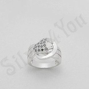 Silver4You.ro - Inel argint zircon negru aspect aur - Pret | Preturi Silver4You.ro - Inel argint zircon negru aspect aur