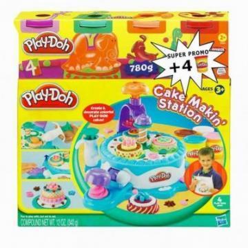 Plastilina PlayDoh Fabrica de dulciuri