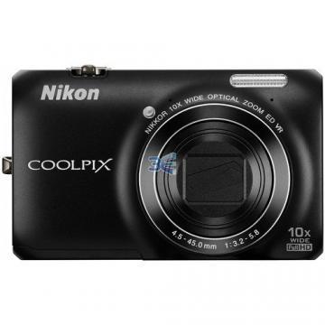 Nikon Coolpix S6300 Negru Bonus: Cadou de Sarbatori - Pret   Preturi Nikon Coolpix S6300 Negru Bonus: Cadou de Sarbatori