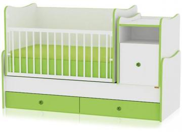 Mobilier transformabil 3 in 1 Trend Plus White / Green - Pret | Preturi Mobilier transformabil 3 in 1 Trend Plus White / Green